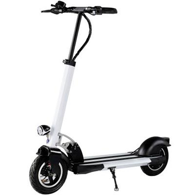 MotoTec MT-Rover_Black Rover 500w Lithium Scooter White