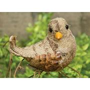 Wing Tai Trading Natural Burlap Bird Clip