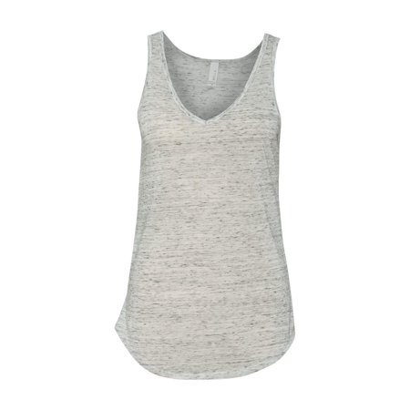 d0b4f340 BELLA+CANVAS - 8805 Bella + Canvas T-Shirts Women's Flowy V-neck Tank -  Walmart.com