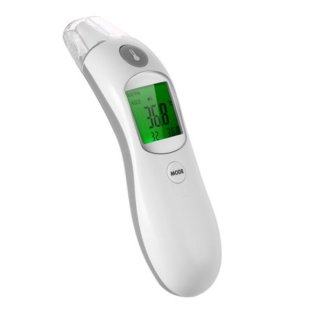 Digital IR Infrared Body Fever Thermometer Adult Children Forehead and Ear Thermometer for Baby Kids and