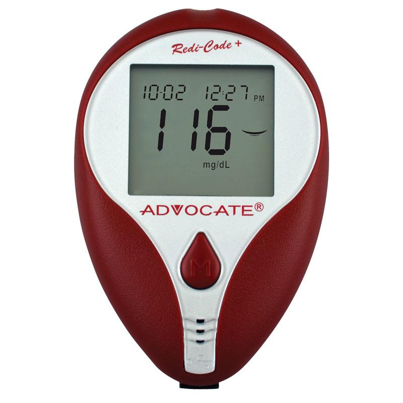 Advocate Redi-Code Plus Non-Speaking Blood Glucose Monitor