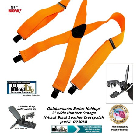 Holdup Suspender Company's Hunter Orange 2