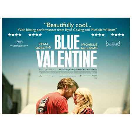 Blue Valentine (2010) 30x40 Movie Poster - Anti Halloween Posters Uk