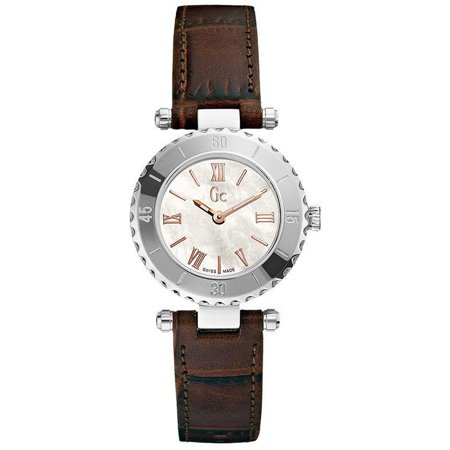 Guess Women's Watches X70031L1S Quartz Round Stainless Steel Leather White -