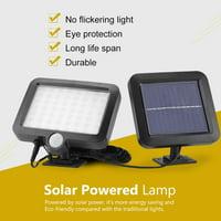 HERCHR 56 LED Bulbs Solar Powered Sensor Light Lamp Lantern Indoor Garden Backyard Outdoor Illumination, Sensor Light, Solar Powered Lamp