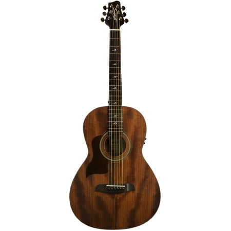 Sawtooth Mahogany Series Left-Handed Solid Mahogany Top Acoustic-Electric Parlor