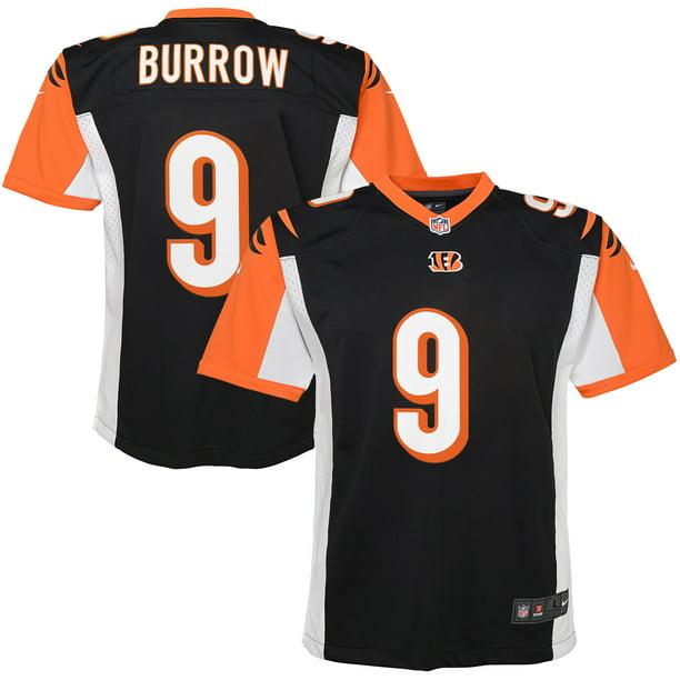 Joe Burrow Cincinnati Bengals Nike Youth Player Game Jersey - Black