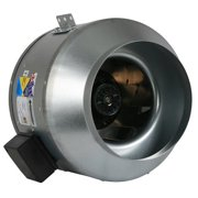 Fantech Inline Mixed Flow Fan FKD Series Fantech Indoor Inline Mixed Flow 10 in Fan FKD 10XL 1267 CFM