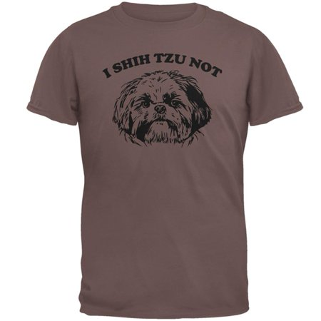 Tangerine Cotton Jersey - I Shih Tzu Not Mens T Shirt