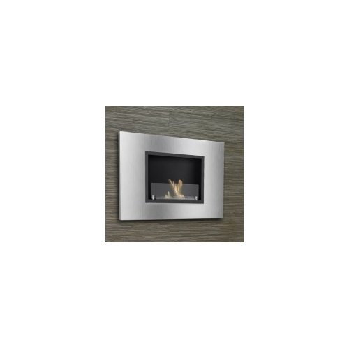 IGNIS Products Quadra Recessed Ventless Wall Mount Ethano...