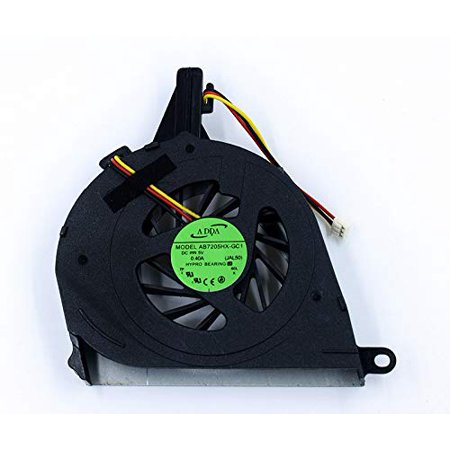 un Laptop CPU Cooling Fan Compatible for Toshiba Satellite L650 L650D L655 L655D Series AB8005HX-GB3 CWBL6A - image 1 of 1