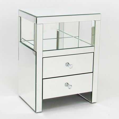 Wayborn Beveled Rectangular Mirror Stand with - Rectangular Stand