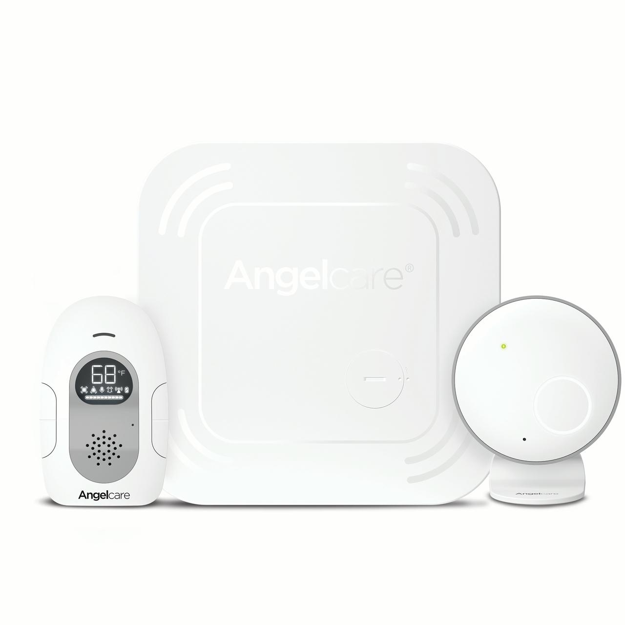Angelcare AC117 Baby Breathing Monitor with Audio and Wireless Sensor Pad