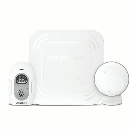 Angelcare AC117 Baby Breathing Monitor with Audio and Wireless Sensor
