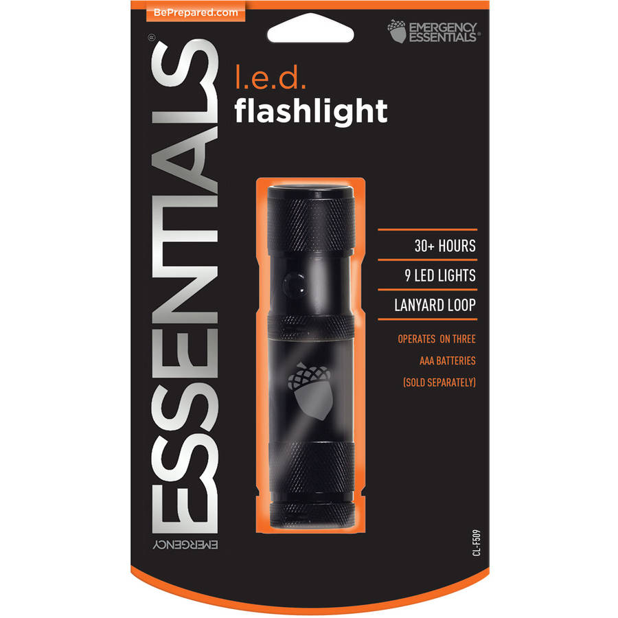 Click here to buy Emergency Essentials Emergency Survival LED Flashlight by Emergency Essentials.