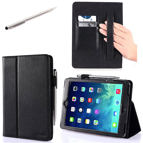 i-Blason Slim Book PU Leather Case for Apple iPad mini with Retina, Assorted Colors