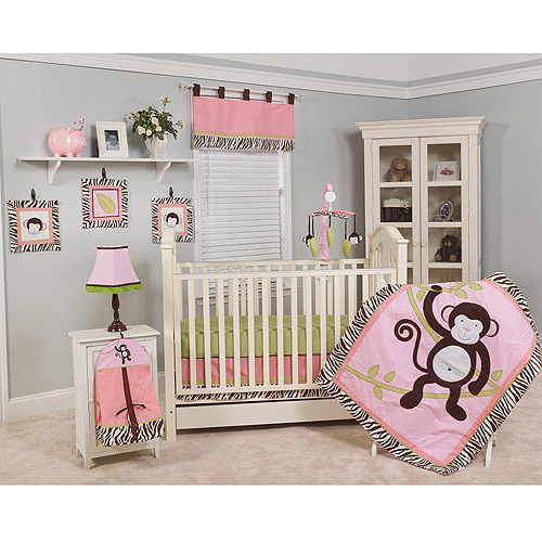 Pam Grace Creations Molly 10pc Nursery-in-a-Bag Crib Bedding Collection - Value Bundle