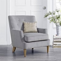 Product Image Mainstays Accent Chair Gray