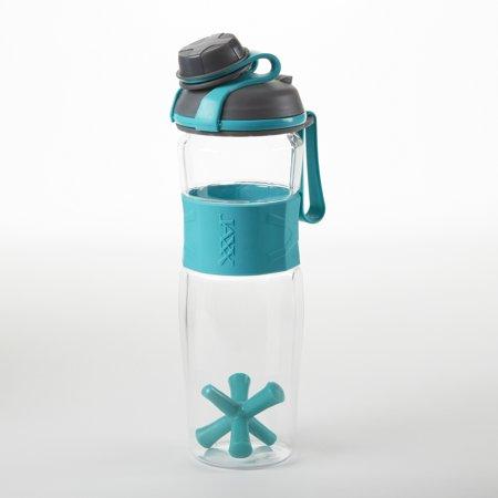 Fit & Fresh 24 ounce Jaxx Active Shaker Bottle TEAL