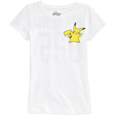 Mighty Fine Girls Pikachu 025 Graphic T-Shirt