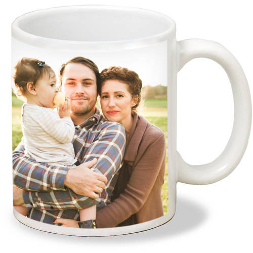 Single Image White Mug, 11 oz