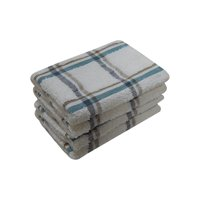Mainstays 4-Piece Dishcloth Set, Multi-color Stripe