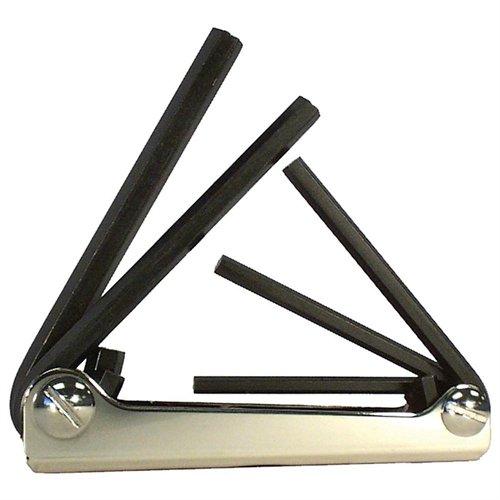 EKLIND Folding Hex Key Set,5 Pieces 20511