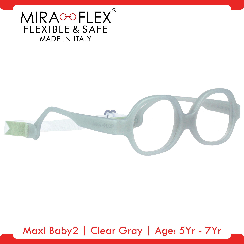 Miraflex: Maxi Baby2 Unbreakable Kids Eyeglass Frames | 40/15 - Pink | Age: 5Yr - 7Yr