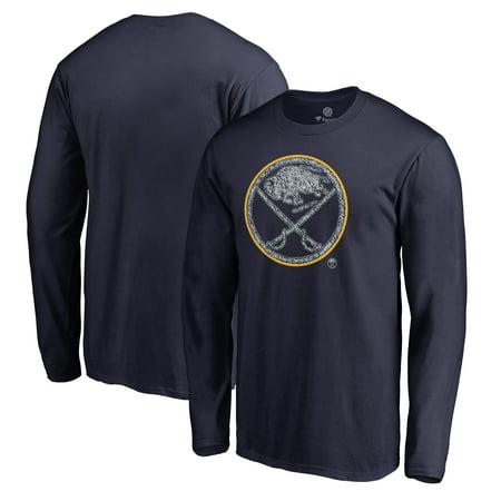 Buffalo Sabres Fanatics Branded Static Logo Long Sleeve T-Shirt - Navy ()