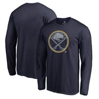 Buffalo Sabres Fanatics Branded Static Logo Long Sleeve T-Shirt - Navy