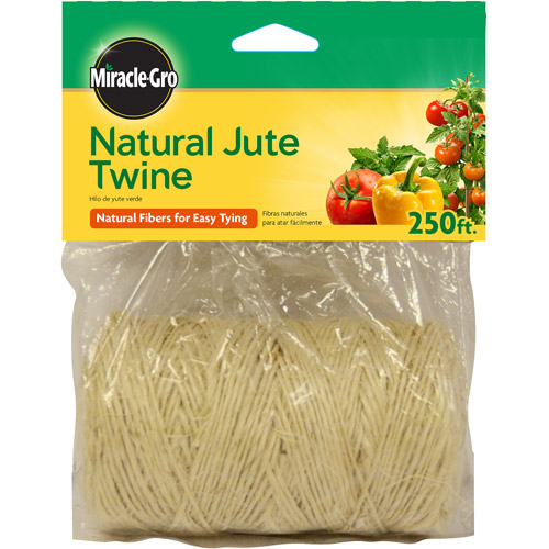 Scotts Miracle Gro 250' Jute Twine, 12-Pack