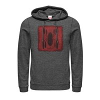 Marvel Men's Spider-Man Homecoming Logo Patch Hoodie