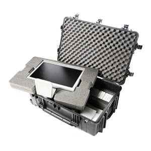 Pelican - 1650-021-110 - Pelican 1650 Large Rolling Hardware and Accessory Case - Internal Dimensions: 17.52 Width x