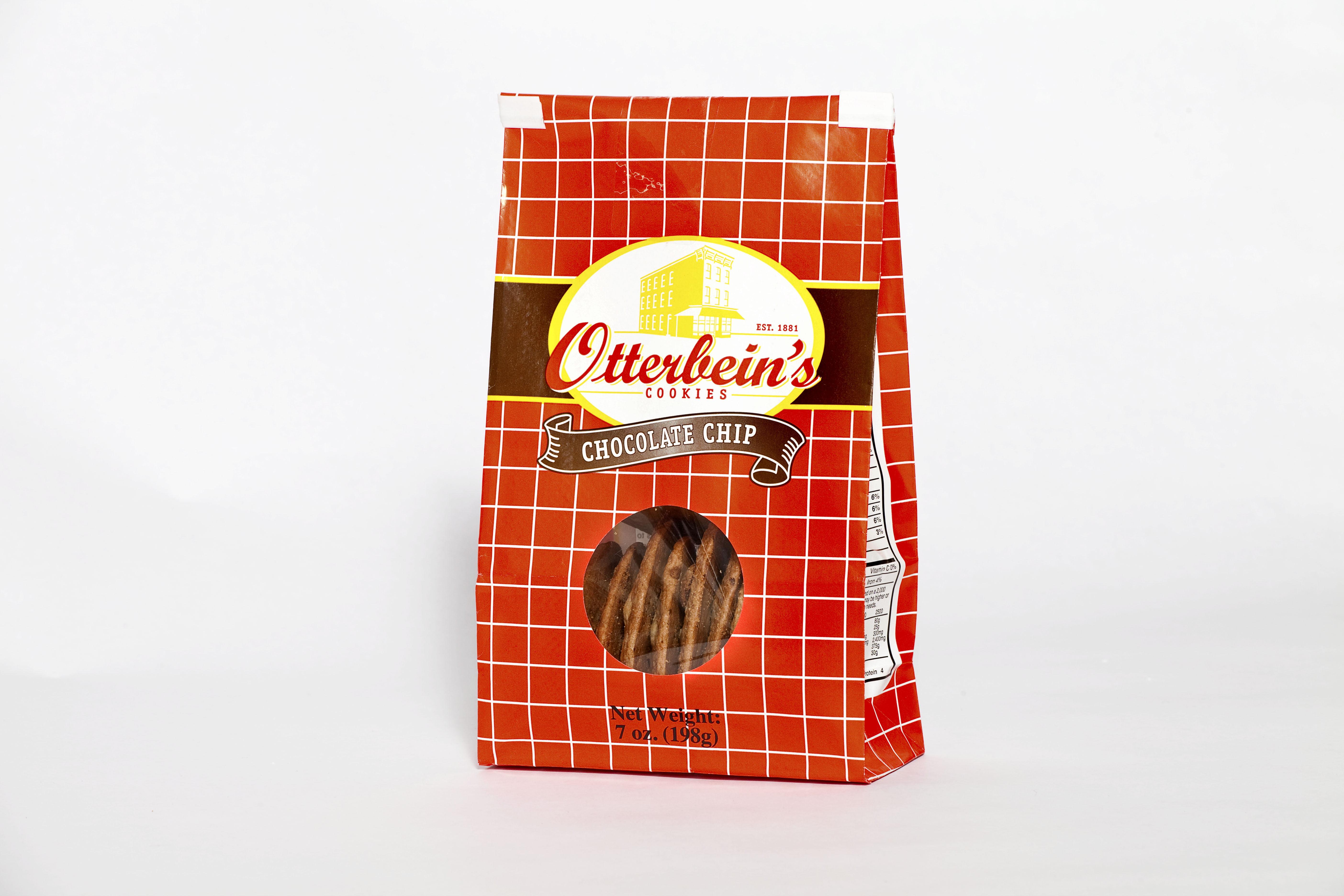 Otterbein's chocolate chip cookies, 7oz walmart. Com.