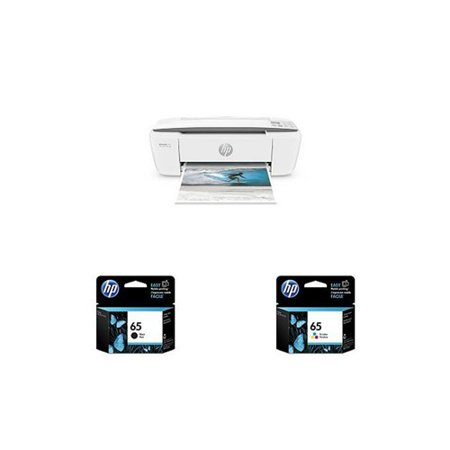 HP DeskJet 3755 AIO Photo Printer with 65 Black and Tri