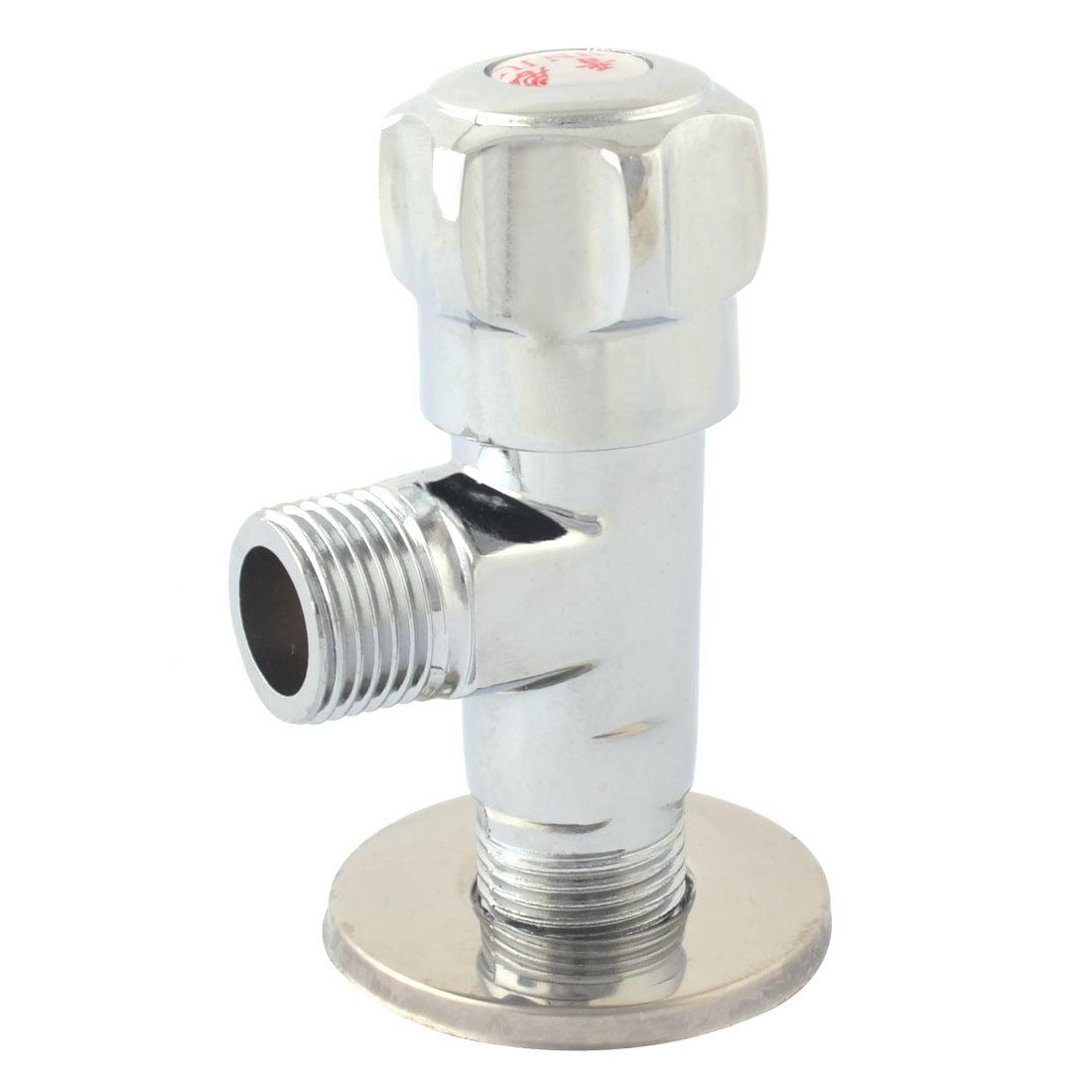 Unique Bargains Kitchen Metal 2 Ways Round Head Faucet Switch 20mm ...