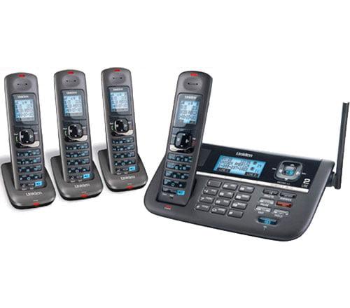 Uniden DECT4086-4 DECT 6.0 2 Line Cordless Phone System by Uniden