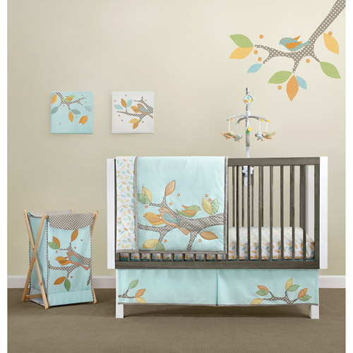 MiGi - Little Tree Collection 3-Piece Crib Bedding Set