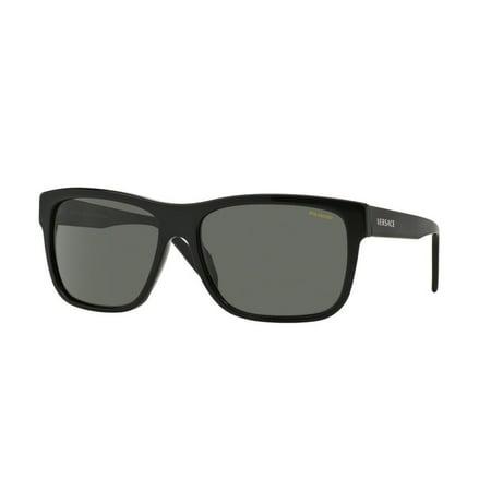 eda016c76f Versace - Sunglasses Versace VE 4179 GB1 58 BLCK - Walmart.com