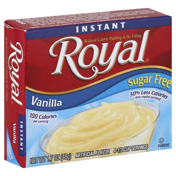 Royal Instant Sugar Free Vanilla Reduced Calorie Pudding & Pie Filling, 1.7 oz