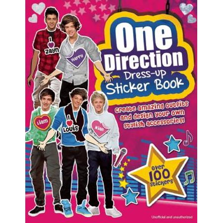 One Direction Dress-Up Sticker Book : A Sizzlin' Pop Heartthrob Sticker Activity Book](About To Pop Stickers)