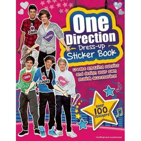 One Direction Dress-Up Sticker Book : A Sizzlin' Pop Heartthrob Sticker Activity Book