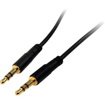 StarTech 10' Slim 3.5mm Stereo Audio Cable, M/M