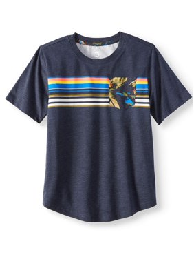 fda64f7c7f1 Product Image Short Sleeve Fashion Stripe Crew Neck Tee Shirt (Little Boys    Big Boys)