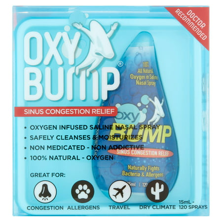 Oxy Bump Sinus Congestion Relief  15Ml