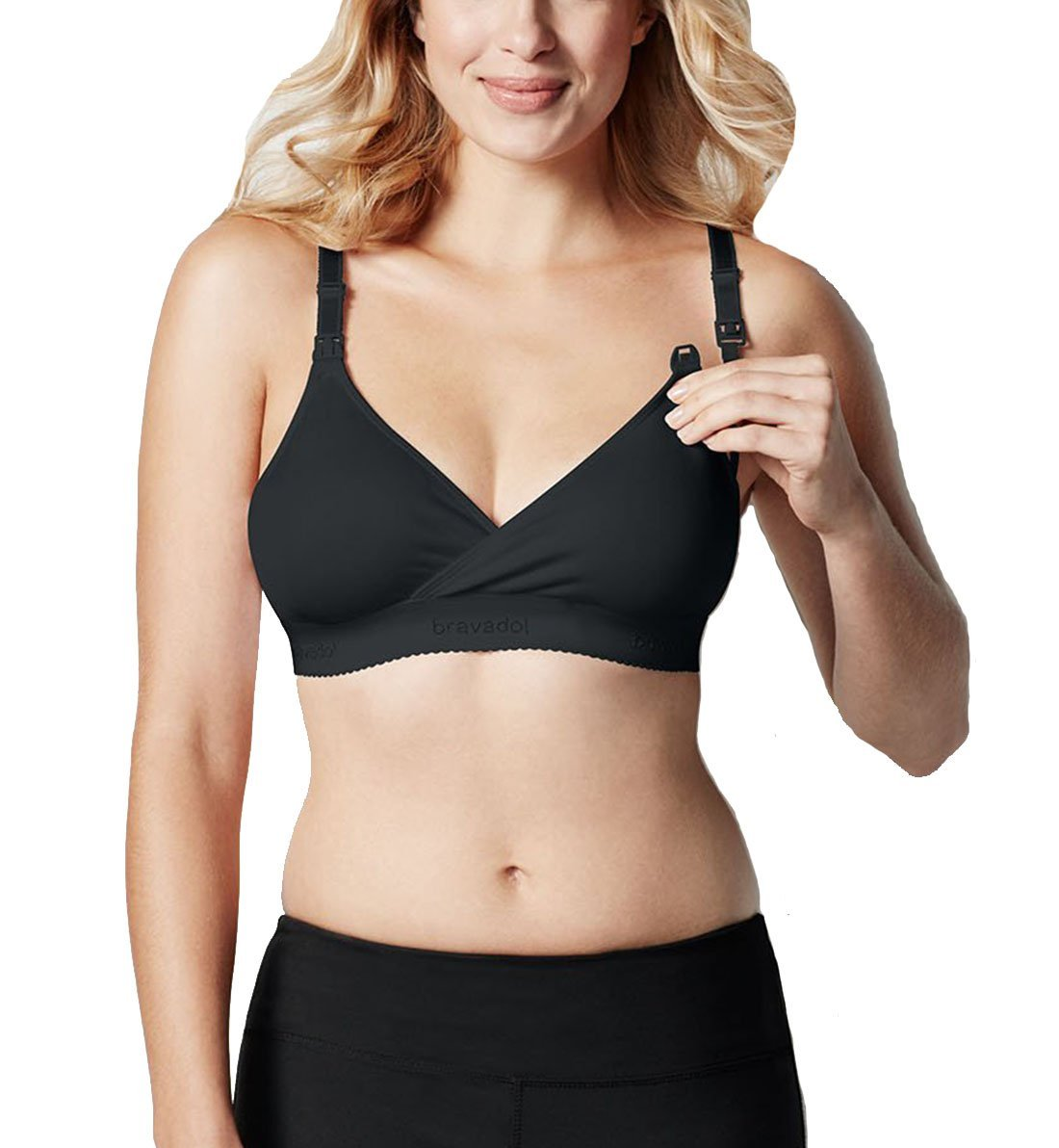 ad90a88b38aff Bravado Original Nursing Bra Large - Black