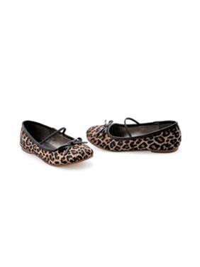 013-BALLET-L, Children's Flat Ballet Slippers