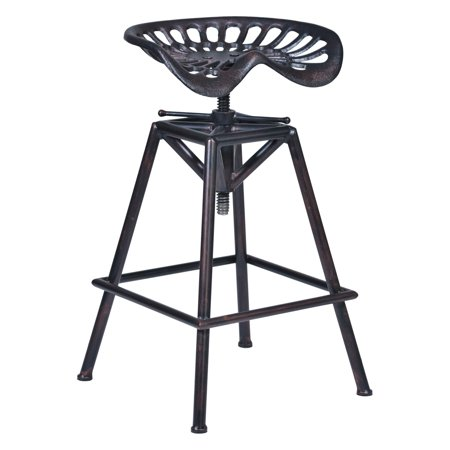 Awe Inspiring Armen Living Osbourne Adjustable Swivel Bar Stool Caraccident5 Cool Chair Designs And Ideas Caraccident5Info