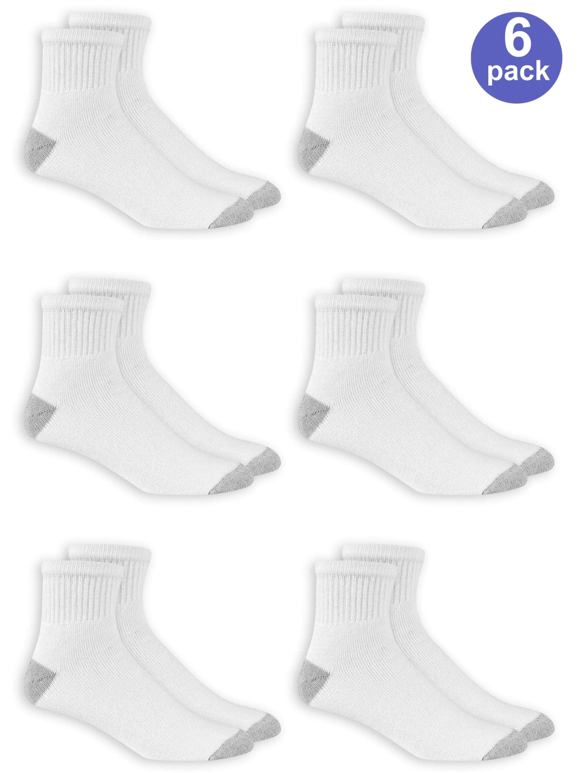 Men's Ankle Socks 6-Pack