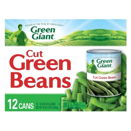 Fresh Green Beans (Product of Green Giant Green Beans, 12 ct./14.5 oz. [Biz Discount])
